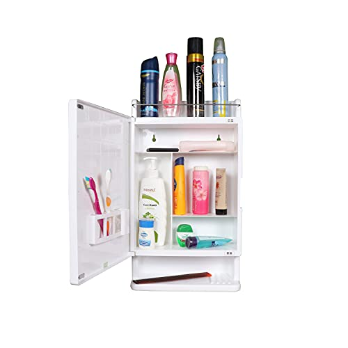 Parasnath Strong and Heavy Rich Look Bathroom Cabinet with Mirror - Made in India