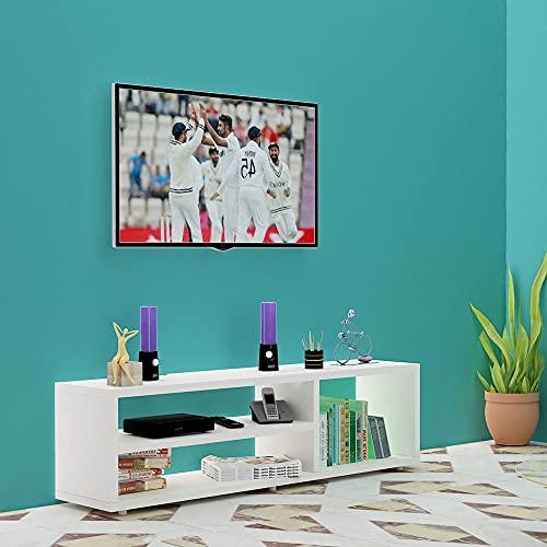 Redwud Skyler Engineered Wood TV Entertainment Unit/TV Cabinet/TV Stand/Entertainment Center Table/Display Storage…