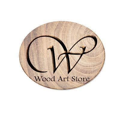 WOOD ART STORE Spice Rack, 2-Tier Foldable Shelf Rack Kitchen Bathroom Countertop, 2-Tier Standing Storage Organizer…