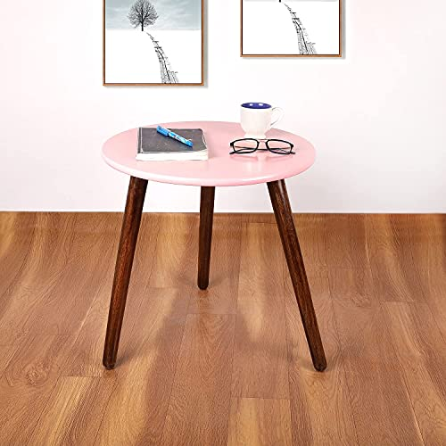 ARTISANS HOME Round Shape End Table for Living Room | Three Legs Bedside Table | Sofa Side Table | Coffee Table | Office…