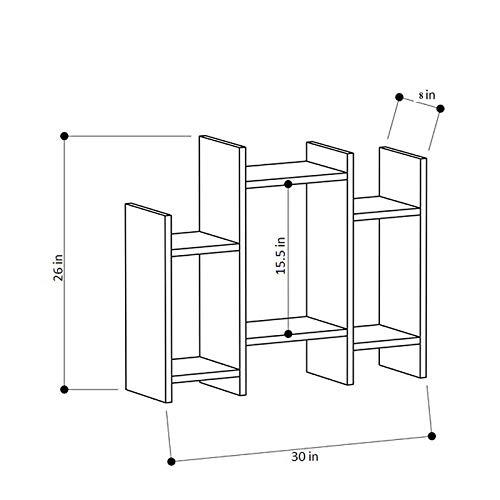 Heera Moti Corporation Side Table/Bookshelf| Storage Shelve for Books Storage Organizer| Children Book Rack| Bookcase…