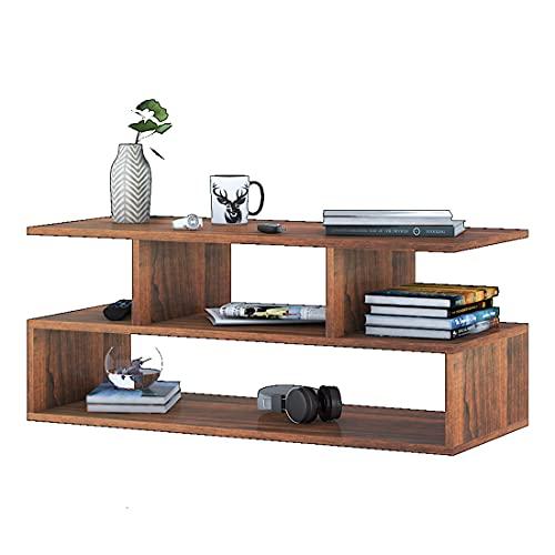 Klaxon Keelan Engineered Wood Coffee Table/Centre Table, Tea Table (Walnut)