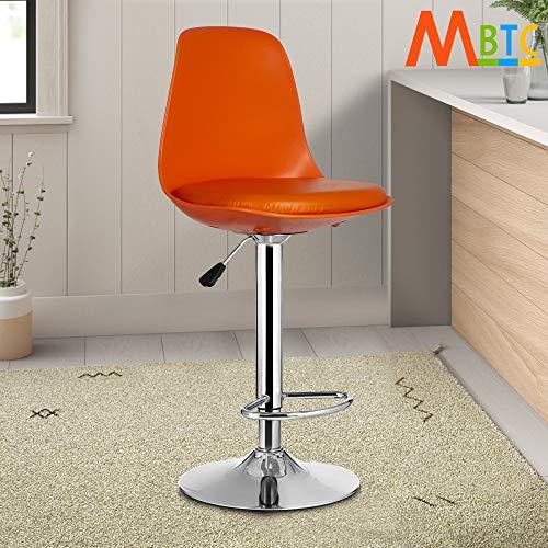 MBTC Rapid High Bar Chair/Kitchen Stool in Orange