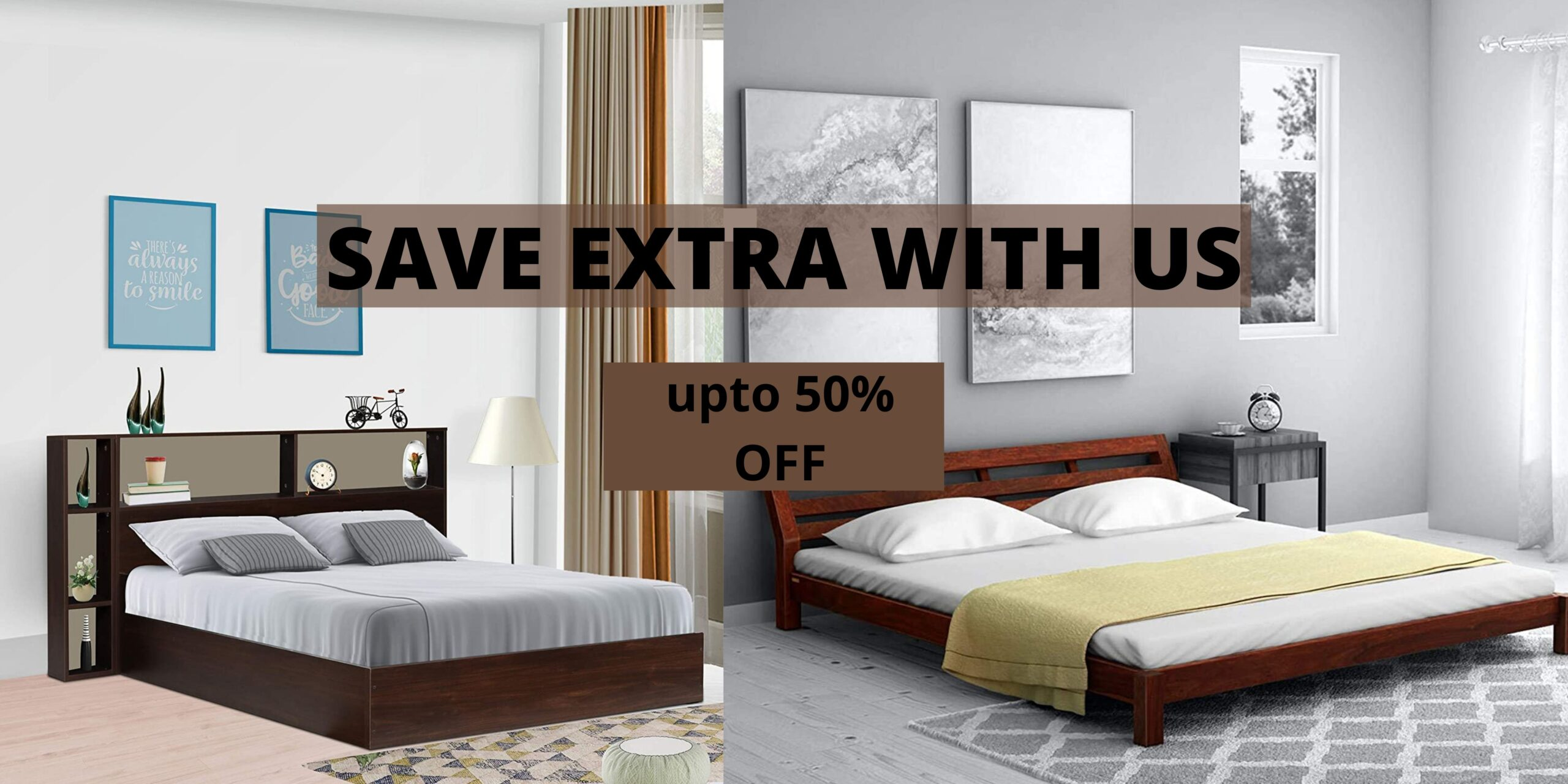 Buy Bed Online - Buy Wooden Beds Starts from Rs.9999 in India - Trendswink