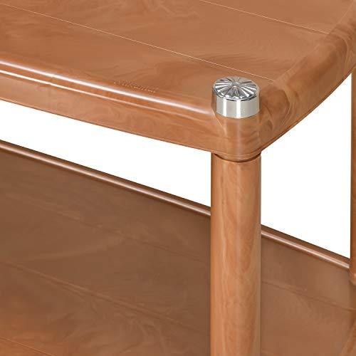 Nilkamal CENTBL5 Plastic Contemporary Center Table (Pear Wood)